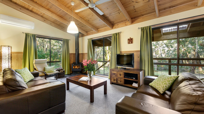 One of our 3 bedroom self contained cottages,  the Villa sleeps up to 7 people.