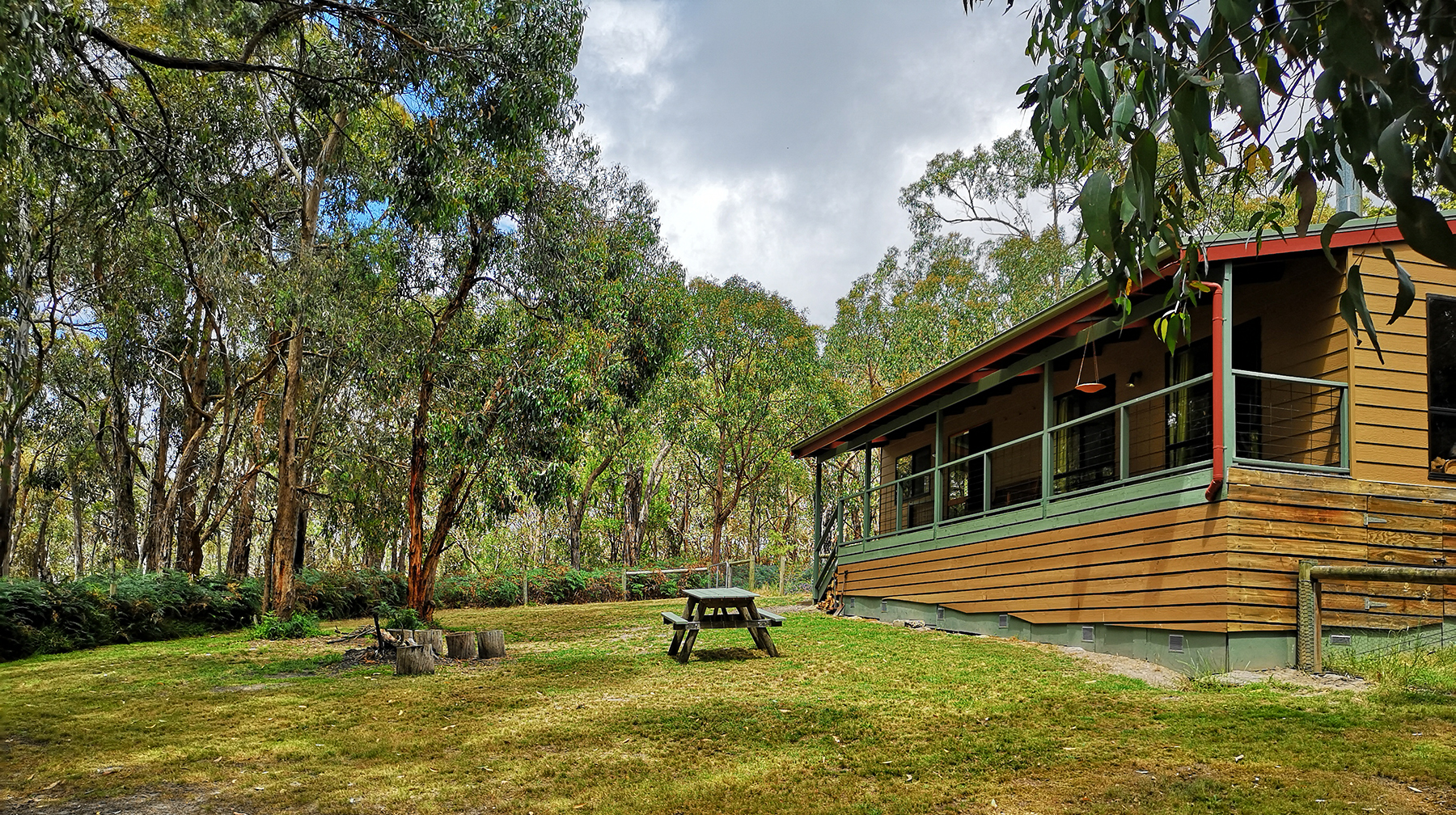Canopy self contained cottage Lorne