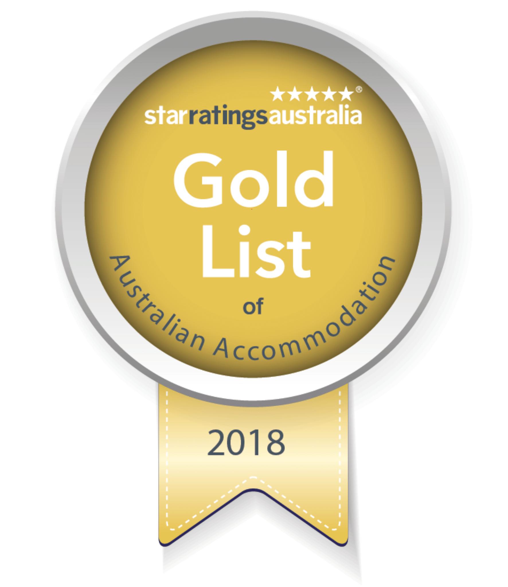Number 5 in Australias Gold List